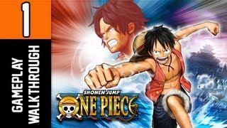 One Piece Pirate Warriors Gameplay Walkthrough - Part 1 [Tutorial] Sabaody Archipelago ENGLISH