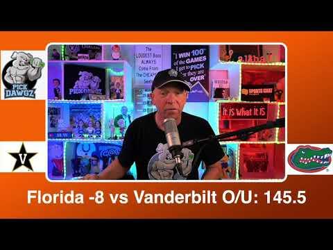 Florida vs Vanderbilt 3/11/21 Free College Basketball Pick and Prediction CBB Betting Tips