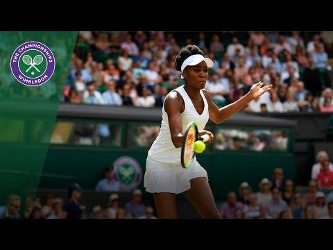 Venus Williams v Ana Konjuh highlights - Wimbledon 2017 fourth round