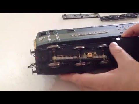 Model Railways 38 - Renewing split gears in a Heljan O gauge 7mm scale class 47