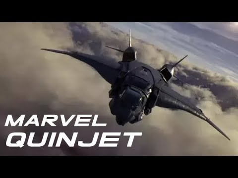 """Quinjet Moments in """"The Avengers"""""""