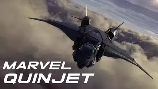"Marvel Quinjet Supercut of ""The Avengers"""