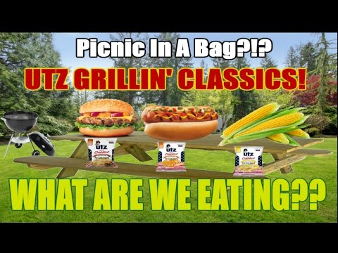UTZ Grillin' Classics  BBQ Picnic In A BAG!?  WHAT ARE WE EATING??  The Wolfe Pit