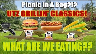 UTZ Grillin' Classics - BBQ Picnic In A BAG!? - WHAT ARE WE EATING?? - The Wolfe Pit