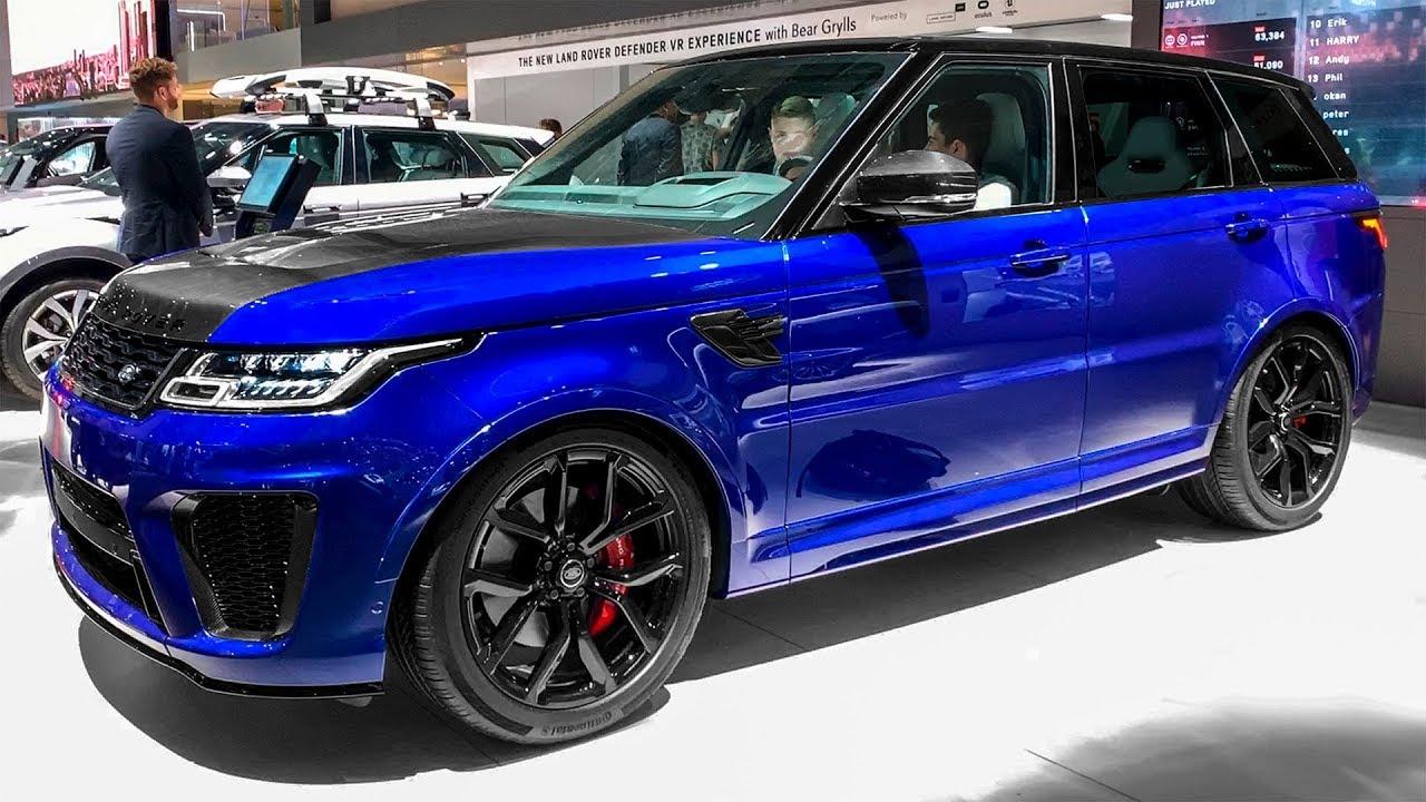 2020 RANGE ROVER Sport SVR - Interior and Exterior Walkaround