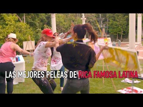 LAS MEJORES PELEAS DE LA TEMPORADA - Rica Famosa la Critica