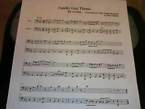 Family Guy Theme For Trumpet Wwwbellissimonyccom
