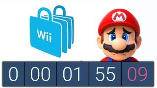 Wii Shop Channel's Final Minutes   Live Countdown