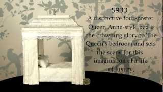 Queen Mary's Four Poster Bed, Dolls House Emporium