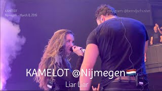 KAMELOT with Lauren Hart - Liar Liar @Doornroosje, Nijmegen - March 8, 2019 4K LIVE
