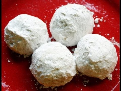 Vegan Russian Tea Cakes Recipe - Vegan Christmas Cookies - YouTube