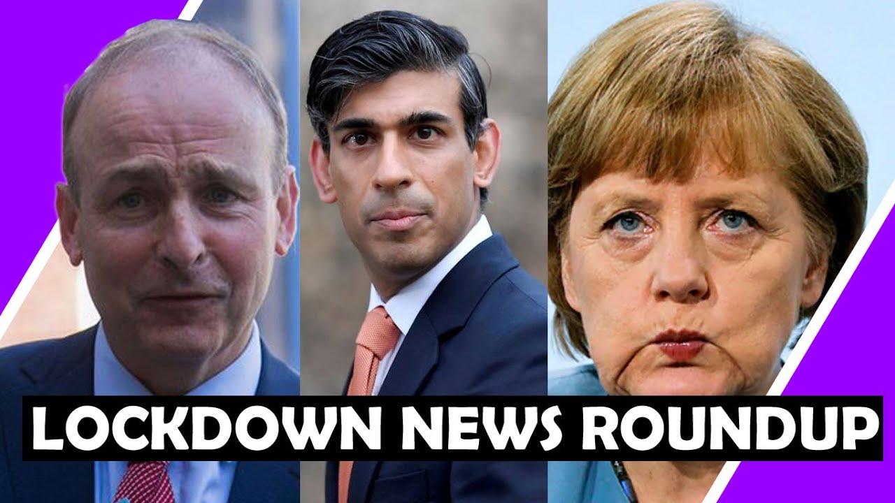 Germans Say NO To Jab / UK to extend Furlough to Sept! UK gov online Sale TAX