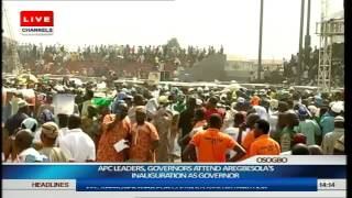 Inauguration Of Rauf Aregbesola As Governor Of Osun State Part 13