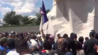 "Martin Luther King, Jr. National Memorial.The ""Stone of Hope"""