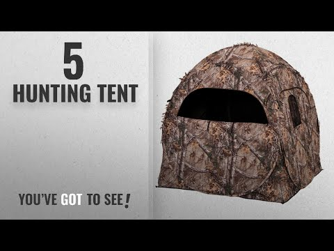 Top 10 Hunting Tent [2018]: Ameristep Doghouse Hunting Blind, Realtree Xtra