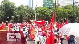 Así se vivió la marcha de campesinos antorchistas en el DF / Comunidad