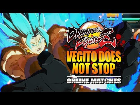 VEGITO DOES NOT STOP : Week Of! Vegito/Zamasu - Dragon Ball FighterZ - Online Matches