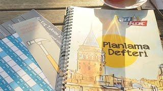 Bu Defteri Görmeden Haftalık Planlama Yapma!#planlamadefteri