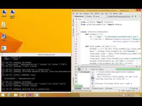 Winium Desktop Demo