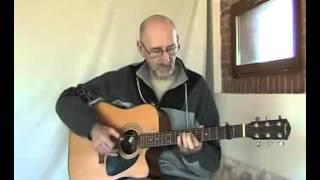 acoustic blues guitar - peace - jim bruce original tune