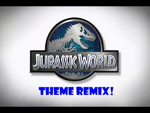 Jurassic World Theme Remix a Glimpse to the Future! - 10 Years In Making!