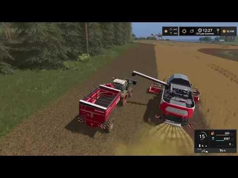 Farming Simulator 17  Timelapse #5 | Baltic Sea With seasons.