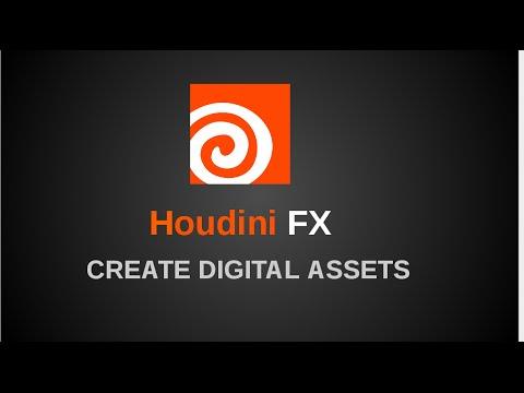 Create Houdini Digital Asset in VFX Pipeline