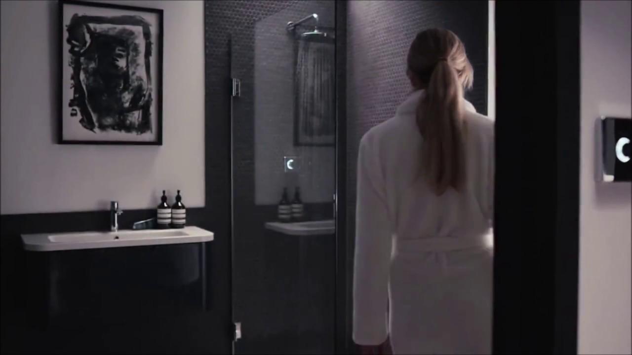 Digital Shower From Bathroom Brands - YouTube