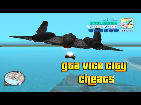 GTA Vice City Cheat Codes (PC)