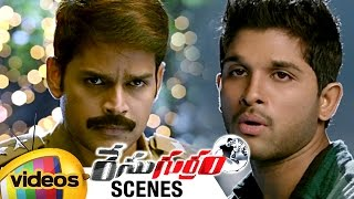 Race Gurram Movie Scenes | Allu Arjun WAR of WORDS with Shaam | Shruti Haasan | Mango Videos