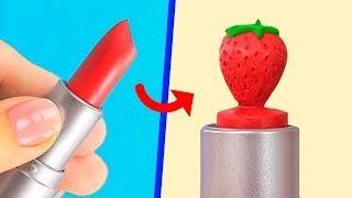 13 Einfache und Nützliche Beauty Hacks Und Weitere Ideen Für Lippenstifte und Lippenmotive