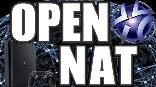 How To Get Open NAT Type On PS4
