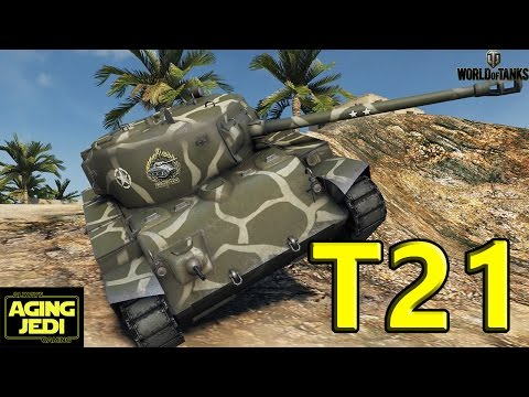 T21 - The Other Tier 6 US Light Tank! - World of Tanks