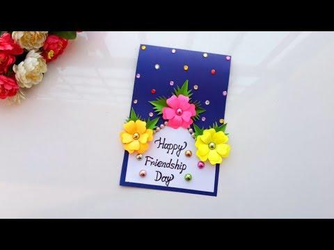 Handmade Friendship Day card idea/ DIY Friendship Day card