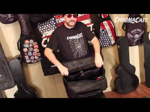ChromaCast Music Stand Gig Bag Demo
