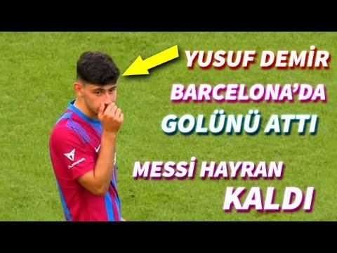 Yusuf Demir Barcelona'da İlk Golünü Attı | Yeni Türk Messi? | Yusuf Demir vs Stuttgart