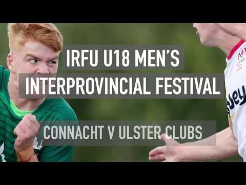 Connacht V Ulster Clubs: 2019 IRFU U18 Men's Interprovincial Festival