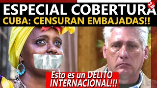 ESPECIAL COBERTURA CUBA: EMBAJADAS SIN INTERNET!!!