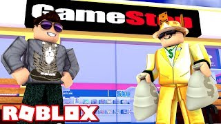 👑 THE KING PASSES! -Roblox Game Store Tycoon English Ep 2 with ComKean