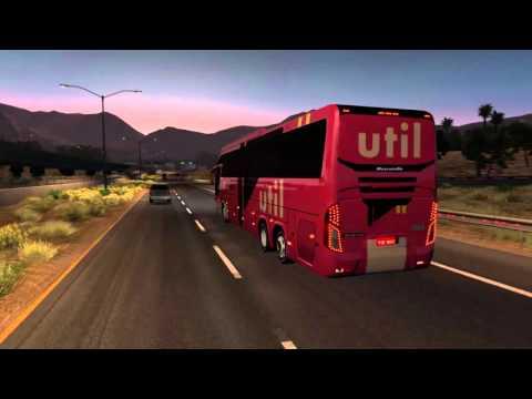 American Truck Simulator Bus trip to Santa Cruz with Mascarello Roma 370 6x2