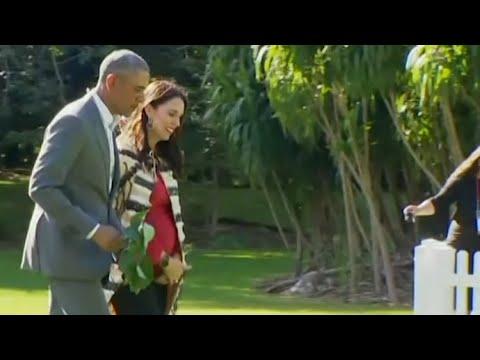 New Zealand PM Jacinda Ardern thrilled at meeting Barack Obama: 'I'm a political nerd'