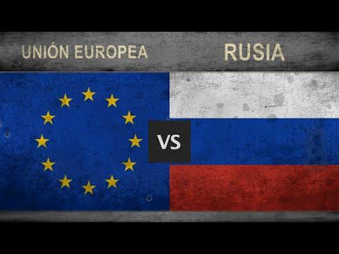 UNIÓN EUROPEA Vs RUSIA - Militar Comparación ✪ 2018