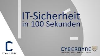 Unser neues Format: IT-Sicherheit in 100 Sekunden – CYBERDYNE