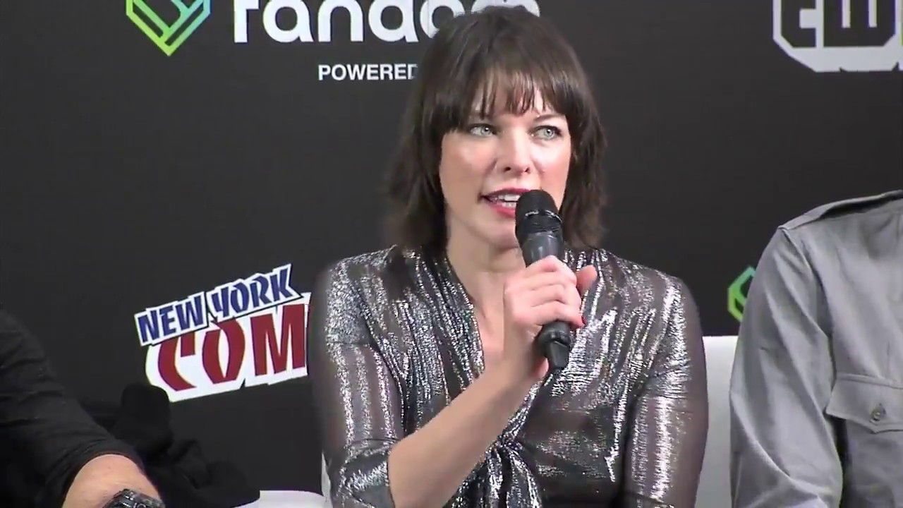 Resident Evil The Final Chapter Interview: Milla Jovovich And Cast Interview About Resident Evil: The