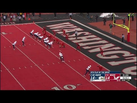 2018 NCAA FCS Quarterfinals - UC Davis Vs Eastern Washington