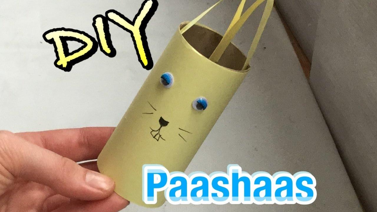 Paashaas Wc Rolletje.Diy Paashaas Knutselen Met Een Papier Wc Rol Voor Kinderen Easy Craft Ideas For Kids