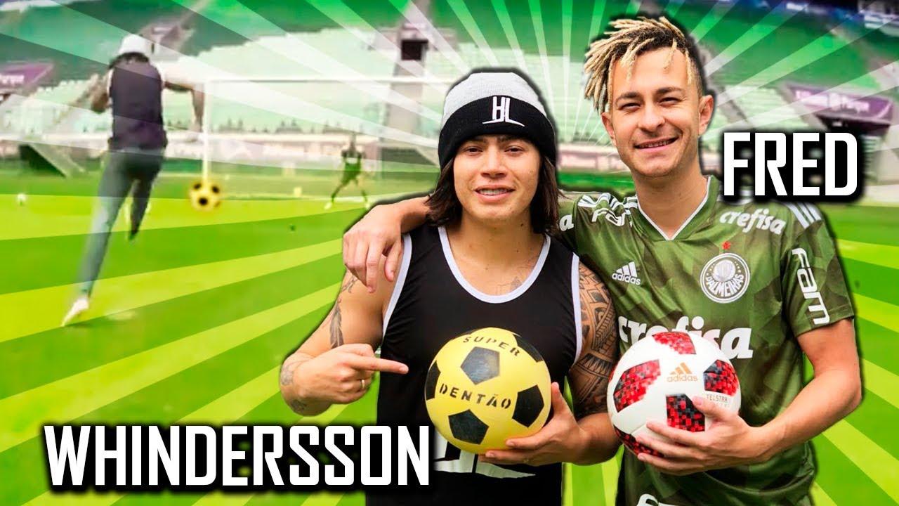 Futebol de Rico e de Pobre - Desafio do Fred
