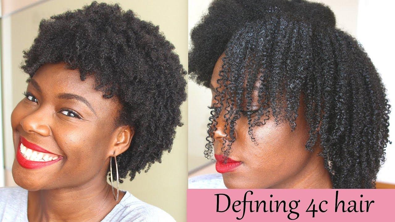 defined curls 4c natural hair
