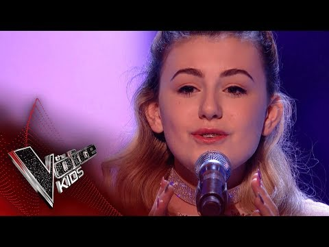 Lauren Mia Performs 'All I Want': Blinds 2  The Voice Kids UK 2018