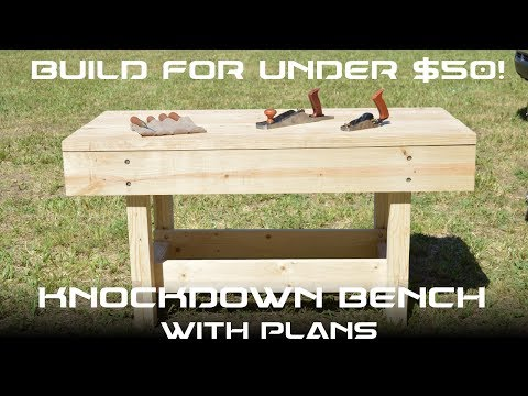 How to Make a DIY Portable Workbench